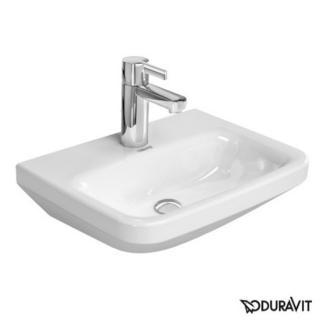 Umývátko Duravit Durastyle 45x33,5 cm otvor pro baterii, bez přetoku 0708450000 bílá bílá