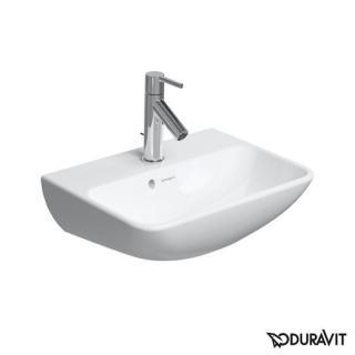 Umývátko Duravit Me By Starck 45x32 cm otvor pro baterii, s přetokem 0719450000 bílá bílá