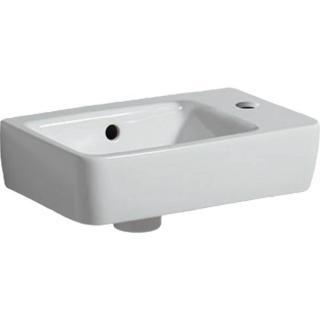 Umývátko Geberit Selnova 50x25 cm otvor pro baterii vlevo 501.506.00.1 bílá bílá