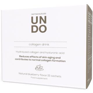 UNDO hydrolyzovaný mořský kolagen s kyselinou hyaluronovou a vitamínem C pro mladistvou pleť   Program na 15 dní   Sensilab