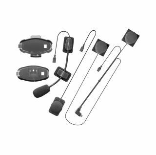 Univerzální audio kit s plochým jackem pro interkomy Active a Connect