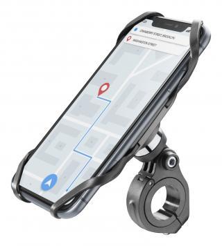 Univerzální držák Cellularline Bike Holder PRO k upevnění na řídítka black
