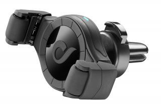 Univerzální držák do ventilace auta s funkcí bezdrátového nabíjení Cellularline Handy Roll černá