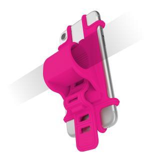 Univerzální držák na řidítka Celly Easy Bike růžový