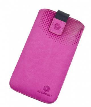 Univerzální pouzdro RedPoint Velvet Pocket 5XL růžové