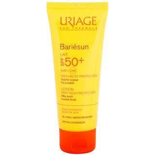 Uriage Bariésun hedvábně jemné ochranné mléko na obličej a tělo SPF 50  100 ml dámské 100 ml