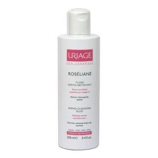 Uriage Dermo-čisticí fluid pro citlivou pleť se sklonem k začervenání Roséliane  250 ml dámské