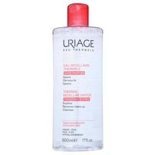 Uriage Eau Micellaire Thermale micelární čisticí voda pro citlivou pleť se sklonem k podráždění bez parfemace 500 ml dámské 500 ml