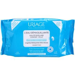 Uriage Hygiène odličovací ubrousky pro normální a suchou pleť 25 ks dámské 25 ks
