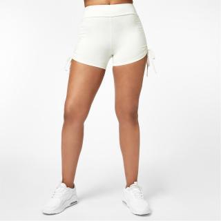 USA Pro x Courtney Black Ruched Ambition 3 Inch Shorts dámské Other XXS