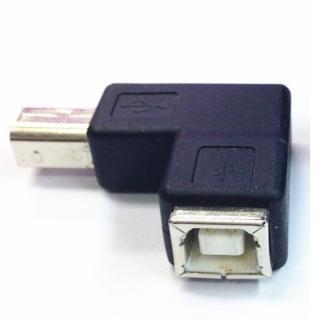 USB 2.0 úhlový adaptér 90° - Samec a samice