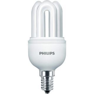 Úsporná žárovka Philips GENIE 8W 865 CDL E14 230-240V studená bílá 6500K