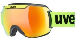 UVEX Downhill 2000 CV Black Mat/Lime/Mirror Orange/CV Green 20/21 pánské M