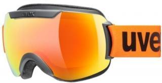 UVEX Downhill 2000 CV Black Mat/Mirror Orange/CV Orange 20/21 pánské M