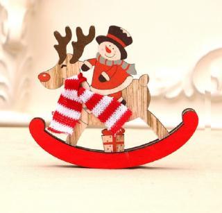 Vánoční dekorace houpací sob Velikost: S, Varianta: 1
