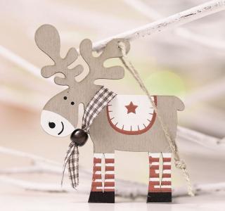 Vánoční dekorace sob Varianta: 1
