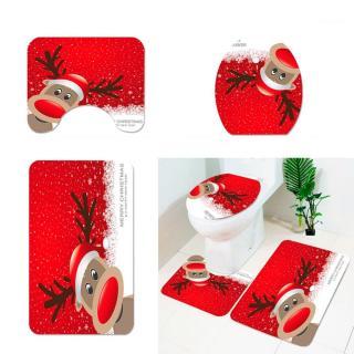 Vánoční koupelnové doplňky 3 ks Varianta: 1