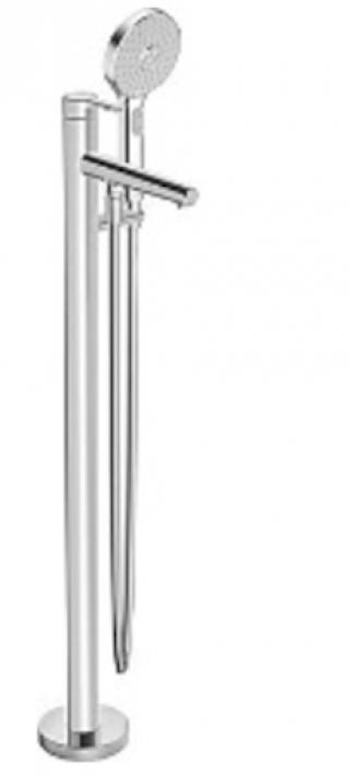 Vanová baterie Hansa DESIGNO se sprchovým setem chrom 53272083 chrom chrom