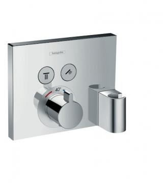Vanová baterie Hansgrohe Showerselect bez podomítkového tělesa chrom 15765000 chrom chrom