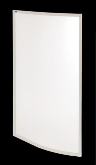 Vanová zástěna Laguna Fortuna 135x77 cm bílá PSFORTUNA150P0
