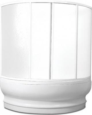 Vanová zástěna Teiko VZISLAND 135x125 cm bílá V311120N51T12001