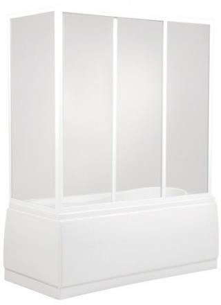 Vanová zástěna Teiko VZP 135x160 cm bílá VZV22015100