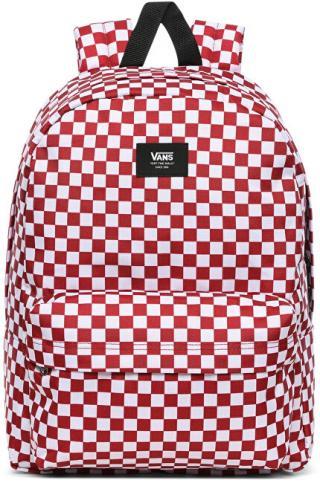 VANS Pánský batoh OLD SKOOL III BACKPACK Chili Pepper Checkerboard VN0A3I6R9761