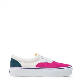 Vans Womens Cream-Pink Sneakers dámské White US 4.5