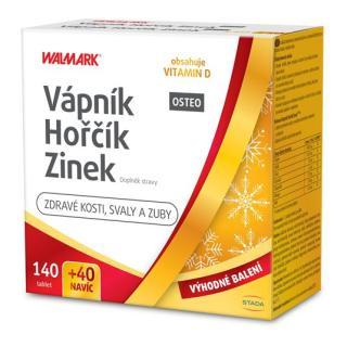 Vápník Hořčík Zinek OSTEO limitovaná edice 2021 140   40 tablet NAVÍC