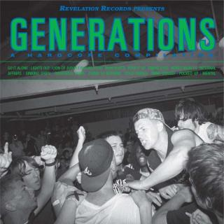 Various Artists Generations - A Hardcore Compilation  Coloured