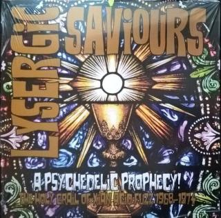 Various Artists Lysergic Saviours  Black