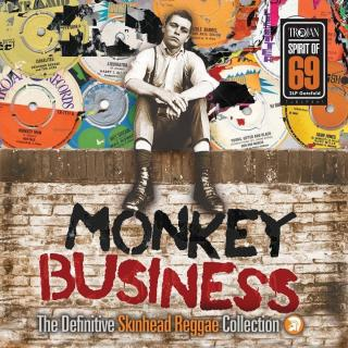 Various Artists Monkey Business: The Definitive Skinhead Reggae Collection  Black