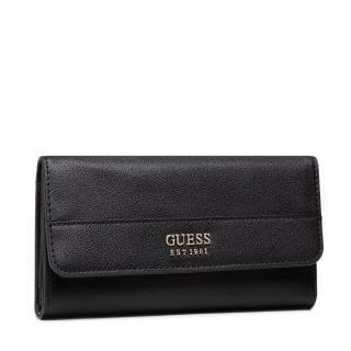 Velká dámská peněženka GUESS - Katey (VG) Slg SWVG78 70650  BLACK Černá