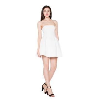 Venaton Womans Dress VT074 dámské ecru L