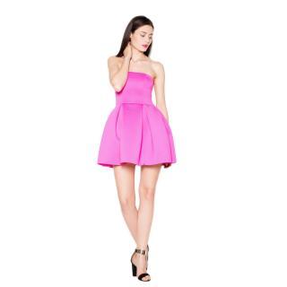 Venaton Womans Dress VT074 Fuchsia dámské L