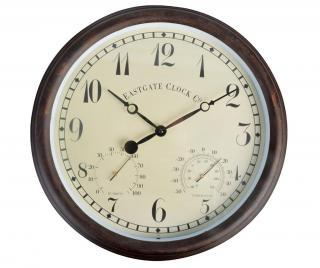 Venkovní hodiny Gate M Hnědá M