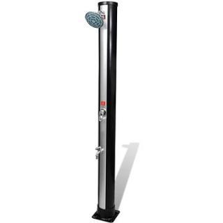 Venkovní solární sprcha se sprchovou hlavicí a baterií 35 l