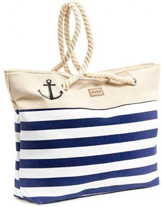 Verde Dámská plážová taška 14-61 blue dámské