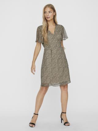 Vero Moda béžové letní šaty Kay - XS dámské béžová XS