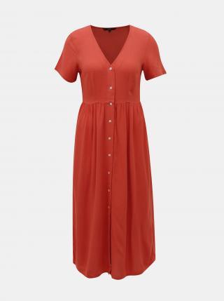 Vero Moda červené maxi šaty Oma - XS dámské červená XS