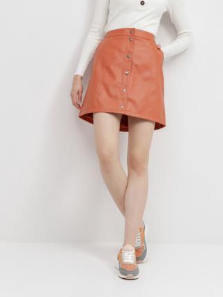 Vero Moda Conneryray Sukně Oranžová dámské XL
