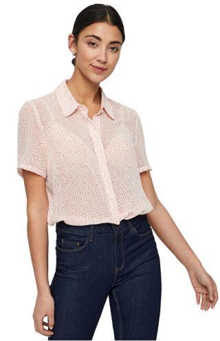 Vero Moda Dámská košile Dotty SS Shirt WVN Pristine S