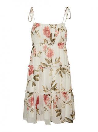 Vero Moda Dámské šaty VMBRIONY 10254590 Snow White M dámské