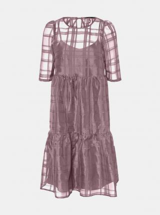 Vero Moda fialové šaty - XS dámské fialová XS