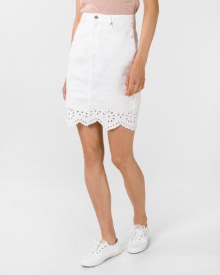 Vero Moda Lisa Sukně Bílá dámské XL