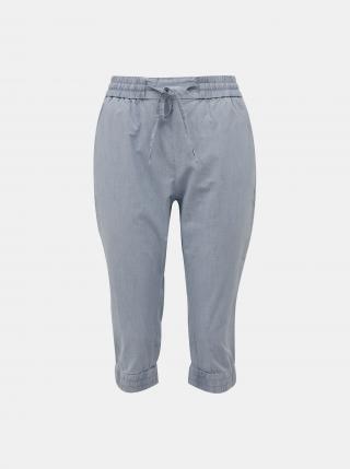 Vero Moda modré tříčtvrteční kalhoty Eva - XS dámské modrá XS