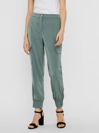 Vero Moda zelené kalhoty - XS dámské zelená XS
