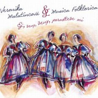 Veronika Malatincová – Ej, ženy, ženy, poradteže mi CD