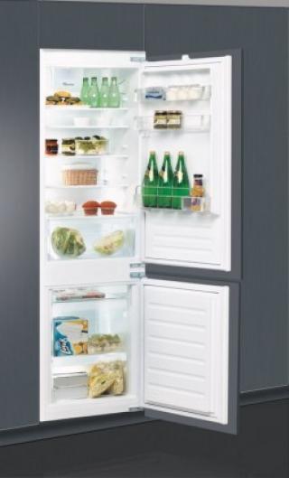 Vestavná kombinovaná lednice whirlpool art 66102