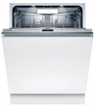 Vestavná myčka nádobí bosh smv8ycx01e, a   , 60cm, 14 sad, bílá